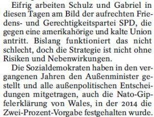 Abrüstung SPD neues Thema1
