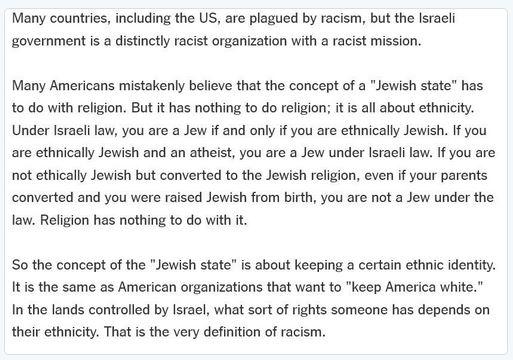 jüdisch ist rassistisch