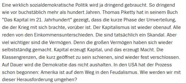 Raffendes Kapital Augstein