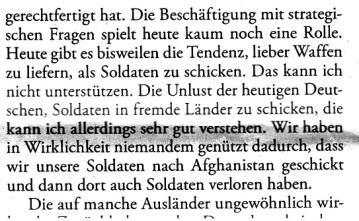 Schmidt Afghanistaneinsatz Bundeswehr