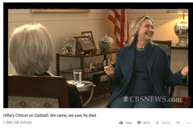Hillary Gaddafi