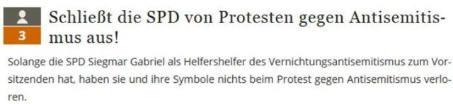 SPD ausschließen