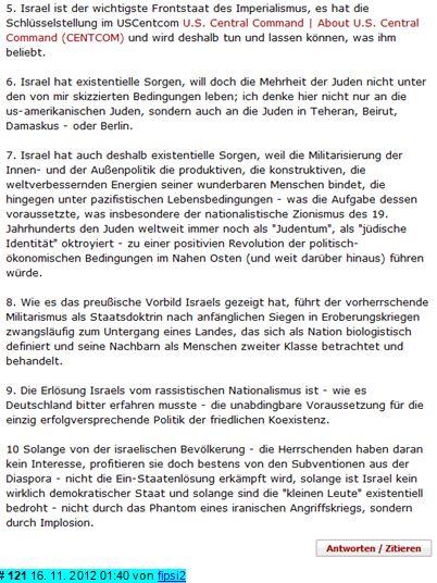 Gazakrieg 2012 - 2