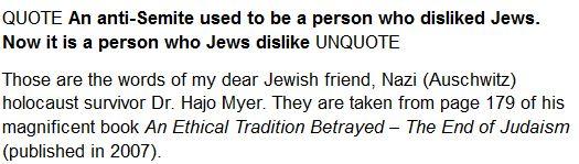Antisemit und Jews Def.