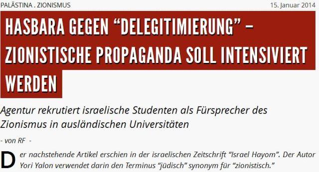 Informelle Mitarbeiter Israels FFIKK