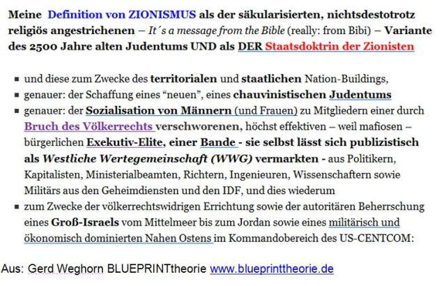 Zionismus Definition