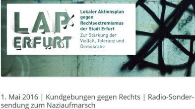 Antifa Neonazi Erfurt