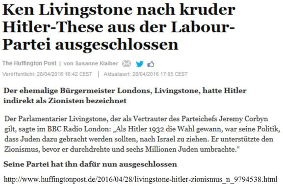 Hitler Zionist Livingston Labour