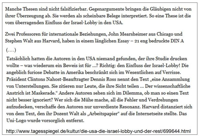 Israelification Lobby Mearsheimer