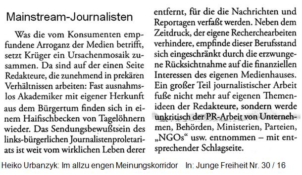 Mainstream Journalisten