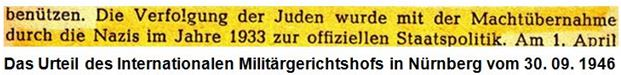 1946 Militärgerichtshof Nürnberg