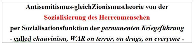 Antisemitismus-gleichZionismustheorie