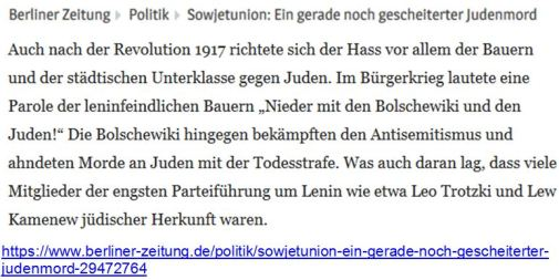 Bolschewiki und Juden