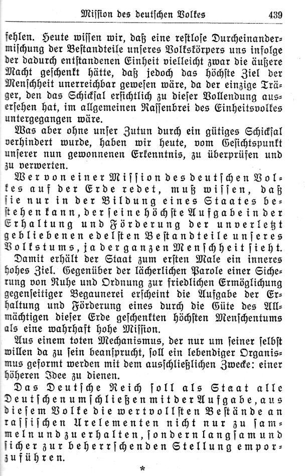 Deutsche jüdische Mission Weltherrschaft