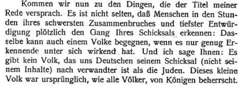 Deutsche sind wie Juden