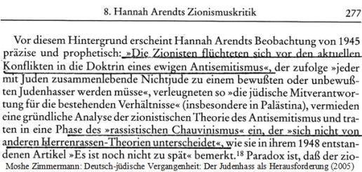 Hannah Arendt Herrenrasse