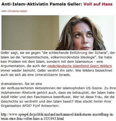 Hass Pamela Geller Wilders