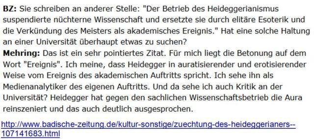 Heidegger Esoteriker