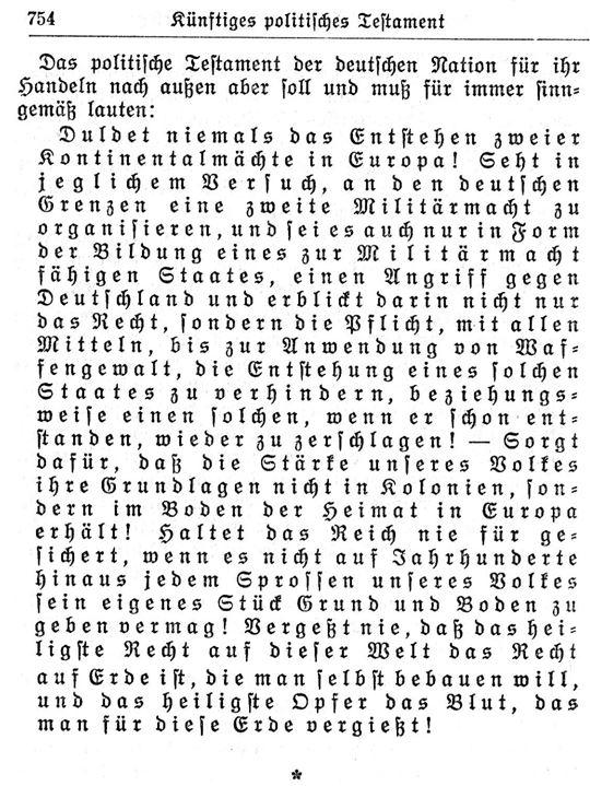 Hitlers Testament