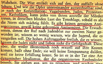 Horkheimer zu Hass als Triebkraft