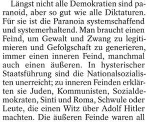 Hysterische Nazis