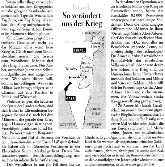 Israel Militarismus2