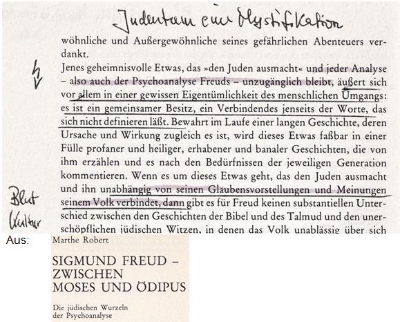Judentum Mysterium Freud Marthe Robert