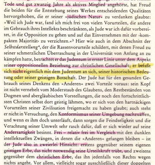 Judentum von Freud