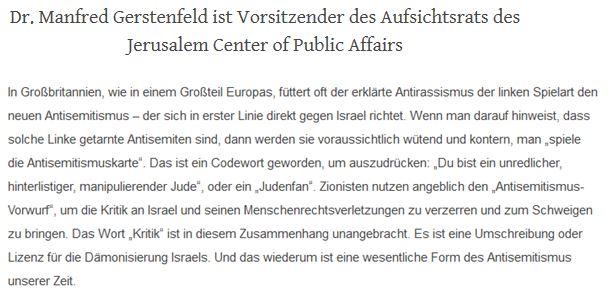 Rabulistik zionistische