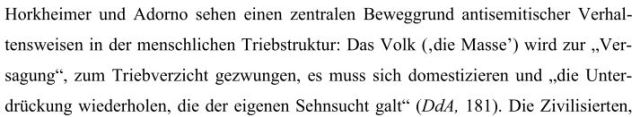 Rezension Horkheimer