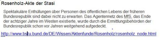 Rosenholz-Akte Stasi
