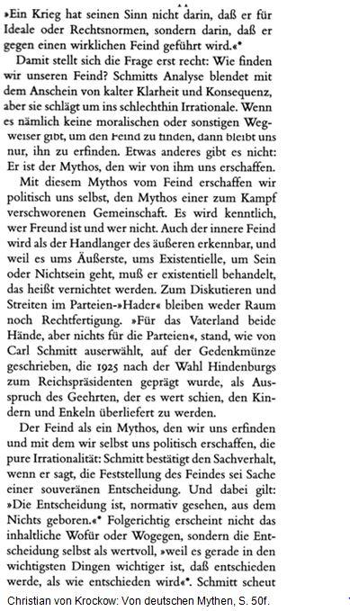 Schmitt Feind 3