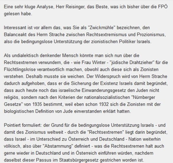 Strache FPÖ