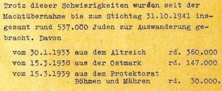 Wannseekonferenz Protokoll S. 3.1