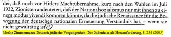 Zionismus Nürnberger Gesetze