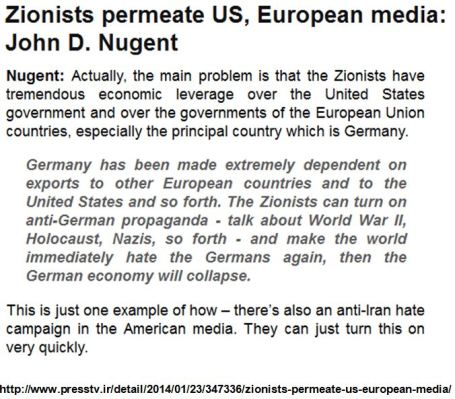 Zionists permeate media