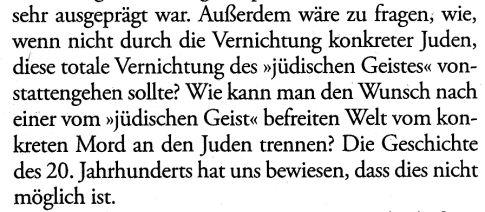 Faye Heidegger Völkermörder