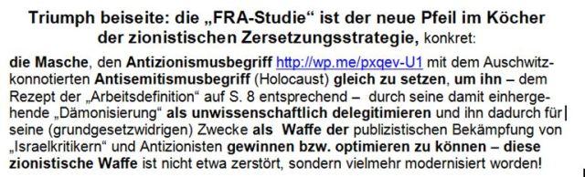 FRA-Studie