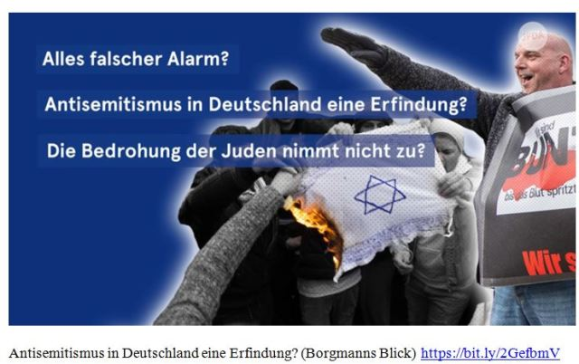Antisemitismus in Deutschland Hetze
