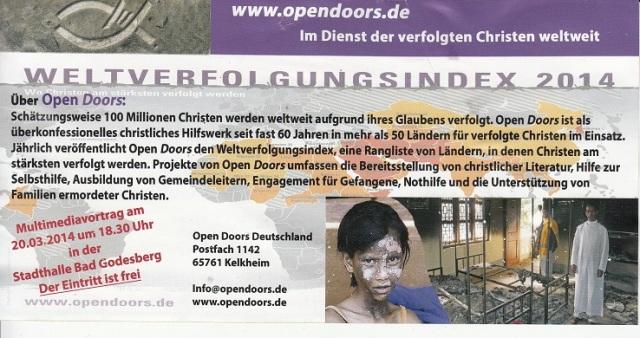 Christenverfolgung Plakat2