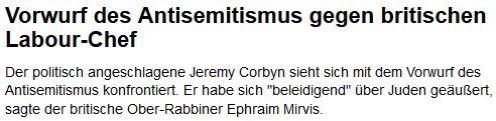 Corbyn Antisemit