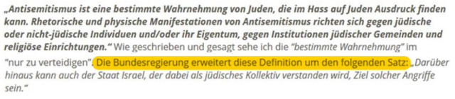 IHRA Antisemitismus-Definition