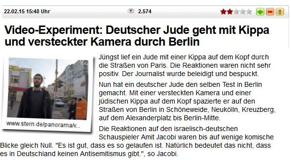 Kippa Jude sucht AS in Berlin