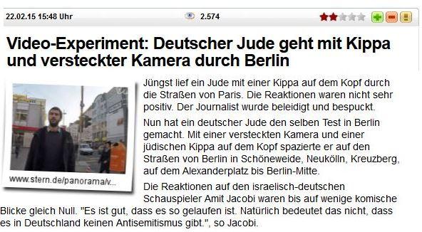 Kippa Jude sucht AS in Berlin