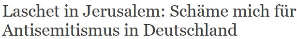 Laschet schämt sich für Deutschland