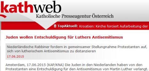 Luther Antisemitismus EKD distanzieren