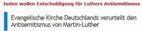Luther, die Juden und die EKD