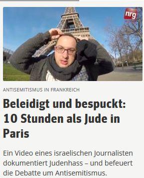 Pariser Jude sucht AS