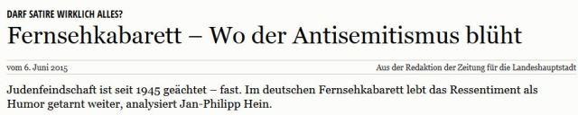 Antisemitenhatz