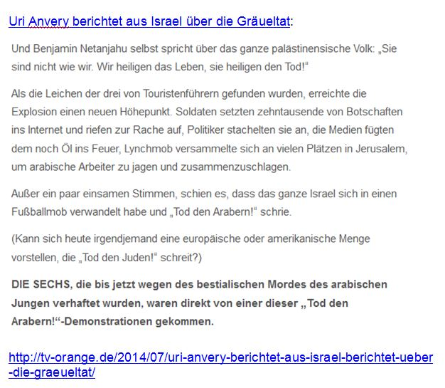 Araberhass Zionisten